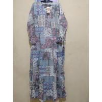 [REAL PICTURE] DRESS BATIK LD 110 RAYON VISCOSE TANAH ABANG PGMTA