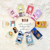 Petite Mimi Kaos Kaki isi 4|Baby Socks|Kaos Kaki Bayi