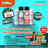 Lavme Anti Bacterial Spray - Paket Hampers Natal C