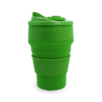 LATINA BANANA SILICONE COLLAPSIBLE CUP 350 ML GREEN