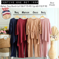 [REAL PICTURE] FESTIVE ONE SET TORY BURCH TANAH ABANG PGMTA METRO