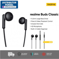 Realme Buds Classic Earphone Resmi