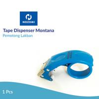 Tape Dispenser Nozomi Montana Blue /Pemotong Lakban