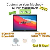 New Macbook Air 13 2020 M1 Chip CTO 16GB RAM