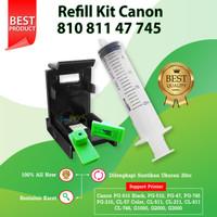 Refill Kit Canon 745s 746s Penyedot Tinta Cartridge MG2570s TR470s