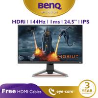 Monitor 144Hz BenQ MOBIUZ EX2510 24.5 inch 1ms IPS HDR Gaming Monitor