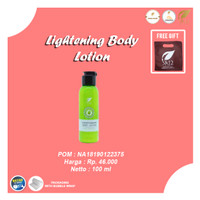 LIGHTENING BODY LOTION SR12/MENCERAHKAN KULIT/BPOM