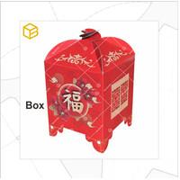 Box Imlek Packaging Hampers Toples Dus Kue Kering   TB-CHARIOT