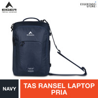 Eiger Navigator Tera 25 Laptop Backpack - Navy