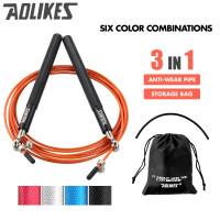 AOLIKES 3202 Lompat Tali Skipping Skiping Jump Rope Gym Fitness Yoga