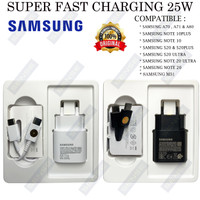 CHARGER SAMSUNG S20 / S20 PLUS / S20 ULTRA 25W SUPER FAST CHARGING