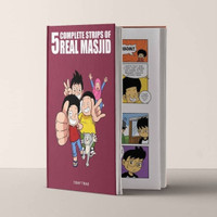Komik 5 Complete Strips of REAL MASJID 5CS Buku Islami bahasa Inggris