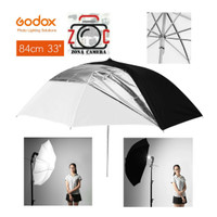 Godox Payung Studio Reflective Double Umbrella Black White 2in1 Putih