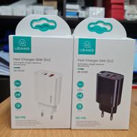 USAMS charger 20w (eu) us-cc121 pd 3.0 qc.3.0