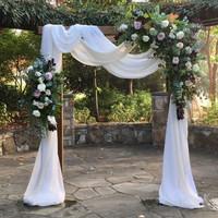 sewa backdrop welcome gate flower outdoor / indoor 2.2meter
