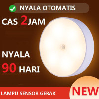 LAMPU TIDUR SENSOR GERAK LED/LAMPU LEMARI/ LAMPU TANGGA/EMERGENCY