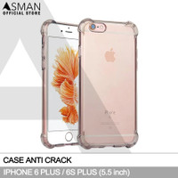 Softcase Anti crack Casing for iPhone 6 Plus / 6s Plus - Clear