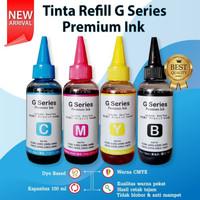 Tinta Premium 100ml Refill Cartridge Canon 745s 746s Printer MG2570s