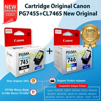 SET Cartridge Canon 745s 746s 745 746 Small Tinta MG2570s TR4570s T307