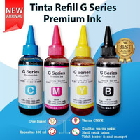 Tinta Premium 100ml Refill Infus Canon MG2570s TR4570s iP2870s MG3070s