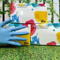 Sarung Tangan Medis Protect Gloves Nitrile size SMALL isi 100 pcs/box