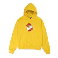 Drew House Cartoon Slippers Hoodie Yellow - S