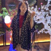 Outer Wanita Outwear Non / Muslim Kimono Outer Cardigan Panjang
