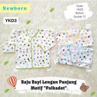1 Lusin Baju Lengan Panjang Bayi baru lahir / newborn ( Arini Baby )