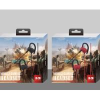 XG210 Earphone Gaming For Mobile Legend PUBG - Headset Mic Gaming