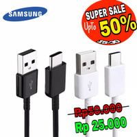 Quick Charger carger cable cabel ori Samsung Galaxy A5 2017 A7 Note 7 - Putih