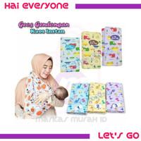 GENDONGAN BAYI KAOS INSTAN - GEOS BAYI OKIYO MOTIF SLING BABY