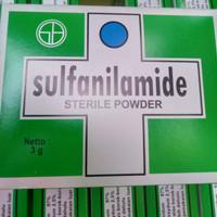 Sulfanilamide obat koreng