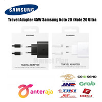 Charger Samsung Galaxy Note 20 / Note 20 Ultra C to C 45W Original New