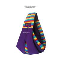 Baba Slings Baby Carrier Rainbow Purple - Gendongan bayi