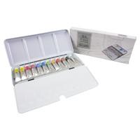 Cat Air Winsor & Newton Professional Metal Box 12 Tube Watercolor