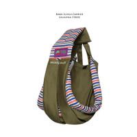 Baba Slings Baby Carrier Savana Stripe - Gendongan bayi
