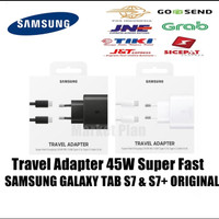 Charger Adapter 45W Samsung Galaxy Tab S7 / S7+ Super Fast Original