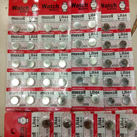 Batere baterai battere Jam tangan Maxell LR44 / AG13 SATUAN