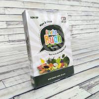 Flashcard Aneka Buah - KONSEP Wipe & Clean Kartu Pintar Mainan Anak
