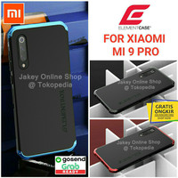 Xiaomi Mi 9 PRO ELEMENT SOLACE case full cover casing hp metal hard - Full Black