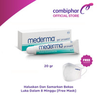 Mederma 20gr Samarkan Bekas Luka - free Masker