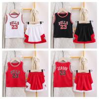 Jersey baju basket anak nba. baju basket bayi. baju basketball bulls