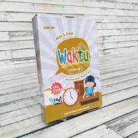 Flashcard Waktu - KONSEP Wipe & Clean Kartu Pintar Mainan Edukasi Anak