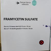 FRAMYCETINE SULFATE / BOX