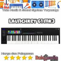 Novation Launchkey 61 MK3 New Keyboard Midi Controller Ori Garansi