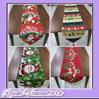 Taplak Meja Panjang Table Runner 180 X 35 CM Nuansa Natal TM20