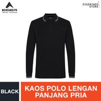 Eiger Riding X Hard Road Polo Shirt - Black