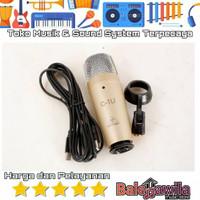 Microphone Mic Condensor Mic Studio Behringer C-1U C1U C 1 USB Ori