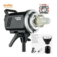 Godox MS200 Lighting Flash HSS Studio 200w Lampu Strobe Light Photo
