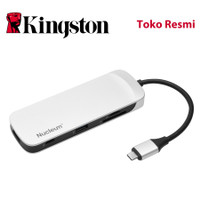 Kingston Nucleum USB-C Hub / HDMI Output / USB-A / SD & MicroSD Reader